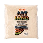 Estes' Art Sand, 2lb Bag- Tan