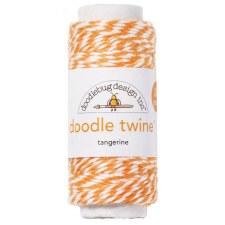 Doodlebug Doodle Twine- Tangerine