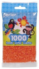 Perler Beads 1000 Piece- Tangerine
