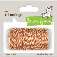 Lawn Fawn Trimmings Cord- Tangerine