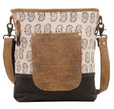 Myra Shoulder Bag- Tango Print