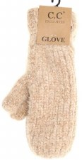 CC Mittens, Chenille- Taupe