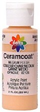 Delta Ceramcoat Acrylic Paint, 2oz- Browns: Tawny Medium