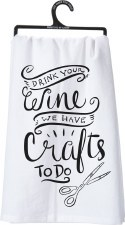 Dish Towel- Crafts To Do
