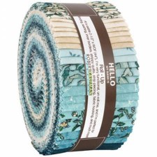 Roll-Up Fabric Strips- Calista, Teal
