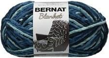 Bernat Blanket Yarn- Teal Dreams