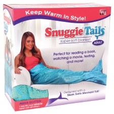 Snuggie Tails Mermaid Blanket- Teal