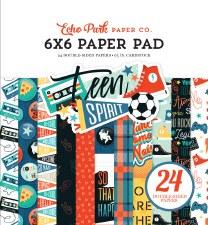 Teen Spirit Boy 6x6 Paper Pad