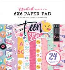 Teen Spirit Girl 6x6 Paper Pad