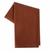 "Waffle Weave 20""x28"" Tea Towel- Terracotta"