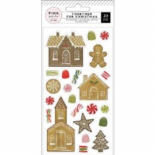 Together for Christmas Stickers- Gingerbread