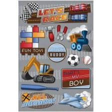 Cardstock Stickers- That's My Boy