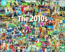 The 2010's - 1,000 Piece Puzzle