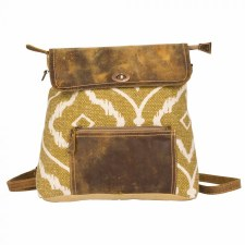 Myra Backpack Bag- Brown Fantasy