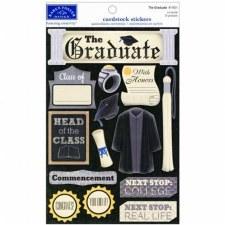 Cardstock Stickers- The Graduate