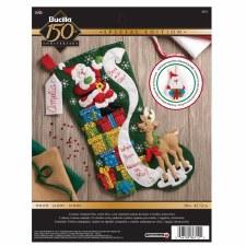 Bucilla Felt Stocking Kit- The List