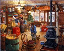The Olde General Store - 1000 piece puzzle