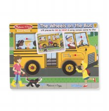 Melissa & Doug Sound Puzzle- The Wheels On The Bus