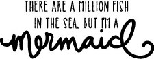 """""""There Are A Million Fish In The Sea... Mermaid"""" Vinyl"""