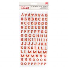 Big Top Dreams Stickers- Alphabet Thickers
