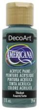 Americana Acrylic Paint, 2oz- Greens: Thicket