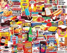 Things I ate as a Kid - 1000 piece puzzle