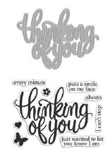 Hero Arts Stamp & Cut Set- Thinking of You