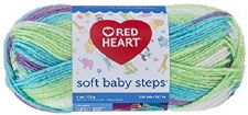 Soft Baby Steps Yarn- Tickle Print
