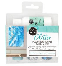 Color Pour Glitter Mix-In Kit- Tidal Wave
