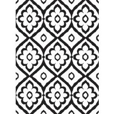 Darice Embossing Folder- Backgrounds- Tile Pattern