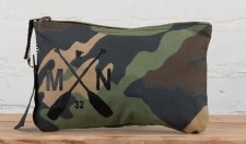 Zip Pouch- Timber Camo