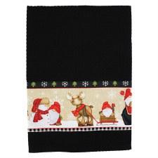 Timber Gnome Towel Kit - Black
