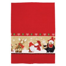 Timber Gnome Towel Kit - Red