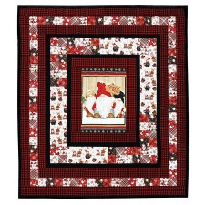 Timber Gnomes Quilt Kit- Double