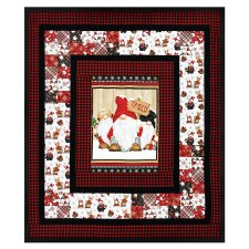 Timber Gnomes Quilt Kit- Throw