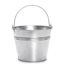"6""  x 7.25"" Tine Pail Metal Bucket"