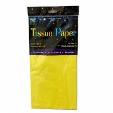12 Sheet Tissue Paper - Yellow