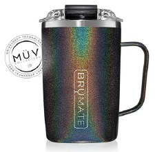 Toddy, 16oz- Glitter Charcoal
