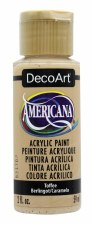 Americana Acrylic Paint, 2oz- Browns: Toffee