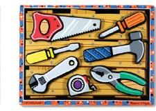 Melissa & Doug Chunky Puzzle- Tools