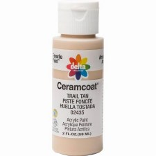 Delta Ceramcoat Acrylic Paint, 2oz- Browns: Trail Tan