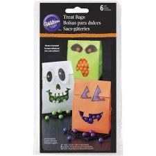 Halloween Treat Bags, 6pc