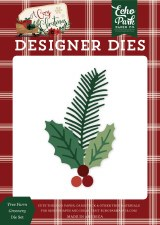 A Cozy Christmas Designer Dies- Tree Farm Greenery