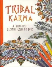 Adult Coloring Book- Tribal Karma
