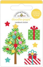 Christmas Magic Stickers, Doodle-Pops- Trim the Tree