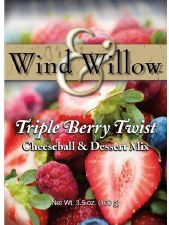 Wind & Willow Cheeseball & Dessert Mix- Triple Berry Twist