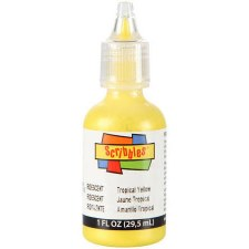 Scribbles Writer, 1 oz- Iridescent- Tropical Yellow