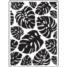 Darice Embossing Folder- Nature- Tropical Leaf