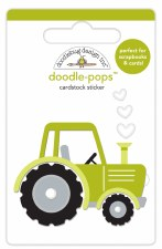 Down On The Farm Doodle-Pops Stickers- Trusty Tractor