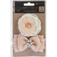 Prima Flower Embellishments- Tu es Tres Belle